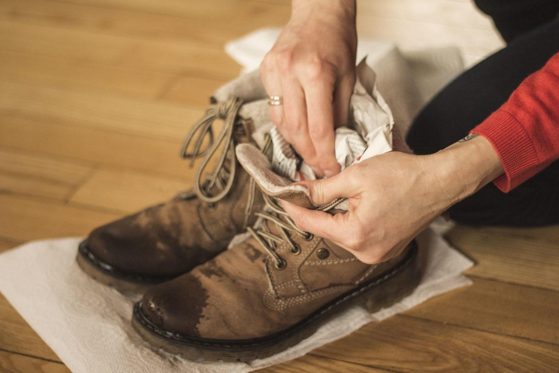 Jak dbać o buty w czasie odwilży.
