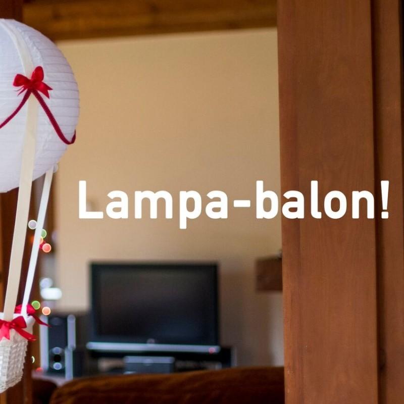 Lampa – balon!