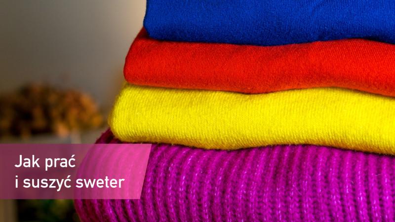 Jak dbać o sweter?