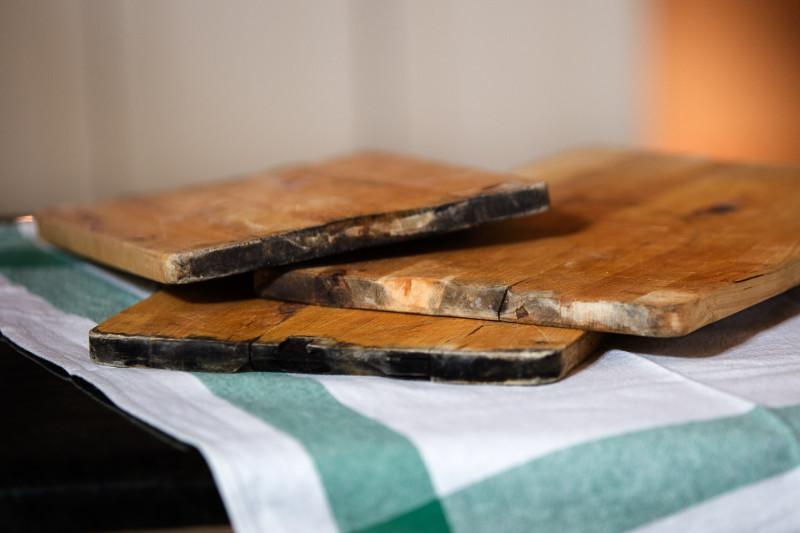Deski zniszczone
