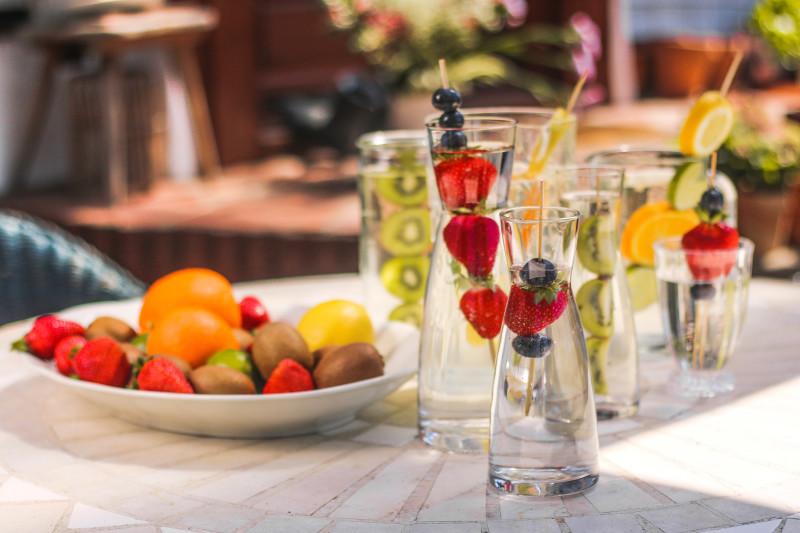 Pomysły na wodę Ula Pedantula domowe wody smakowe