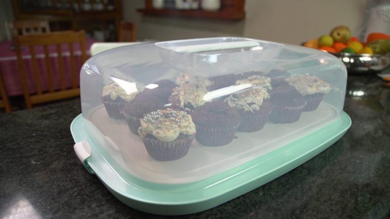 muffiny czekoladowe w pojemniku