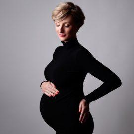 Ula Chincz w ciąży