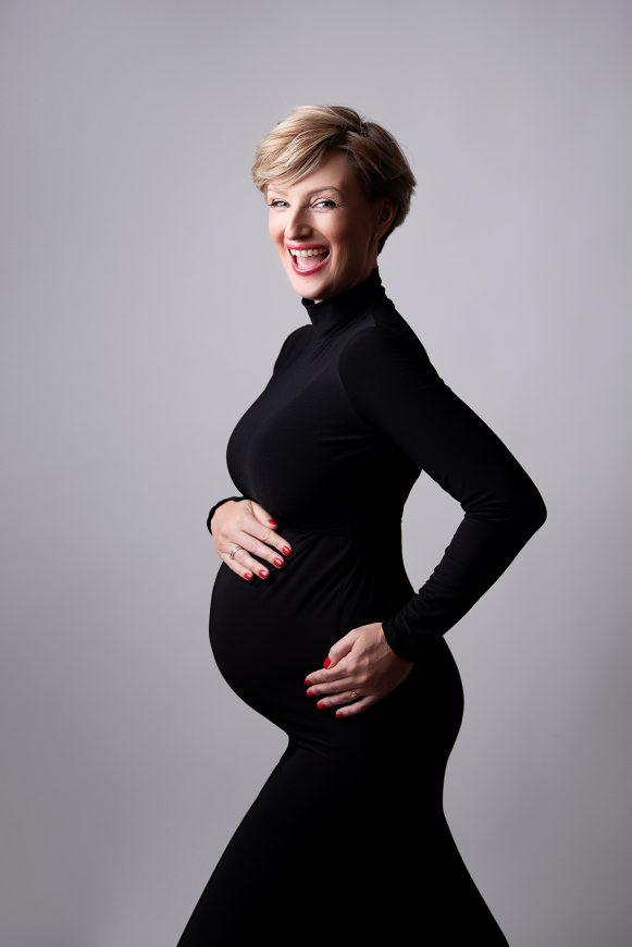 Ula Chincz w ciąży fot. Dorota Graczyk mua. Anna Karbowiak-Szałańska