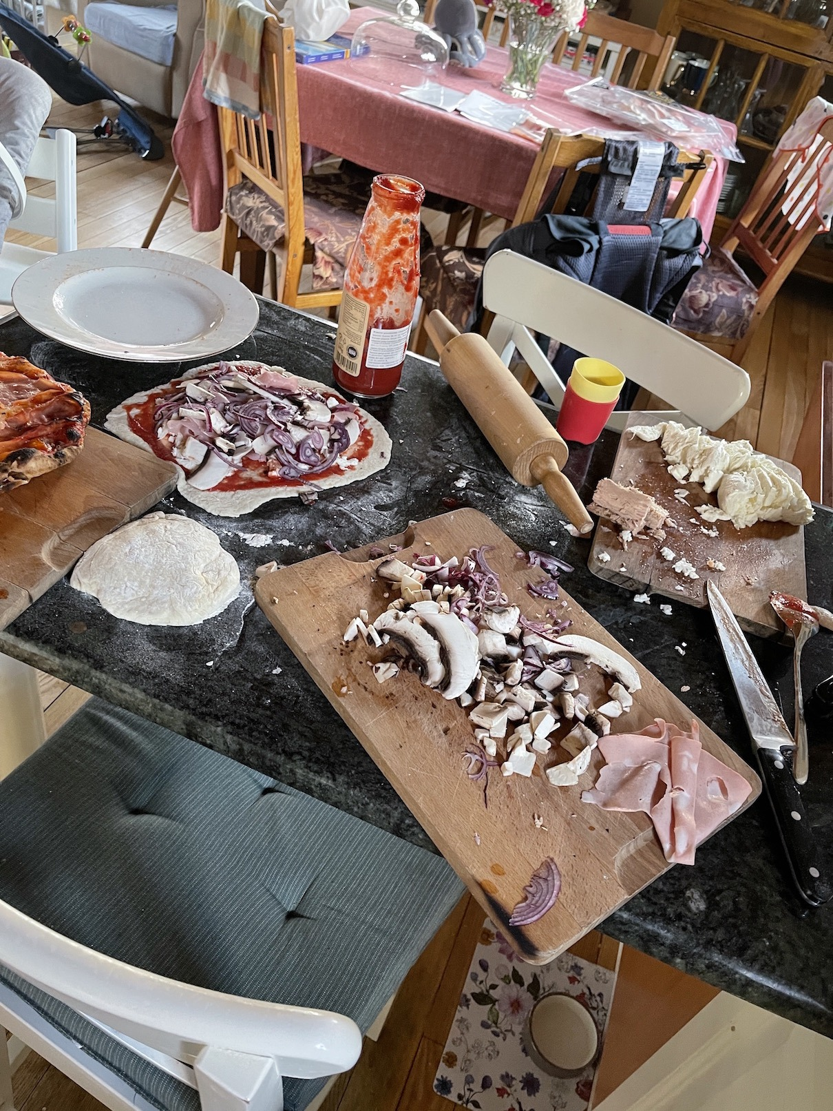 Ula Pedantula bałagan w kuchni