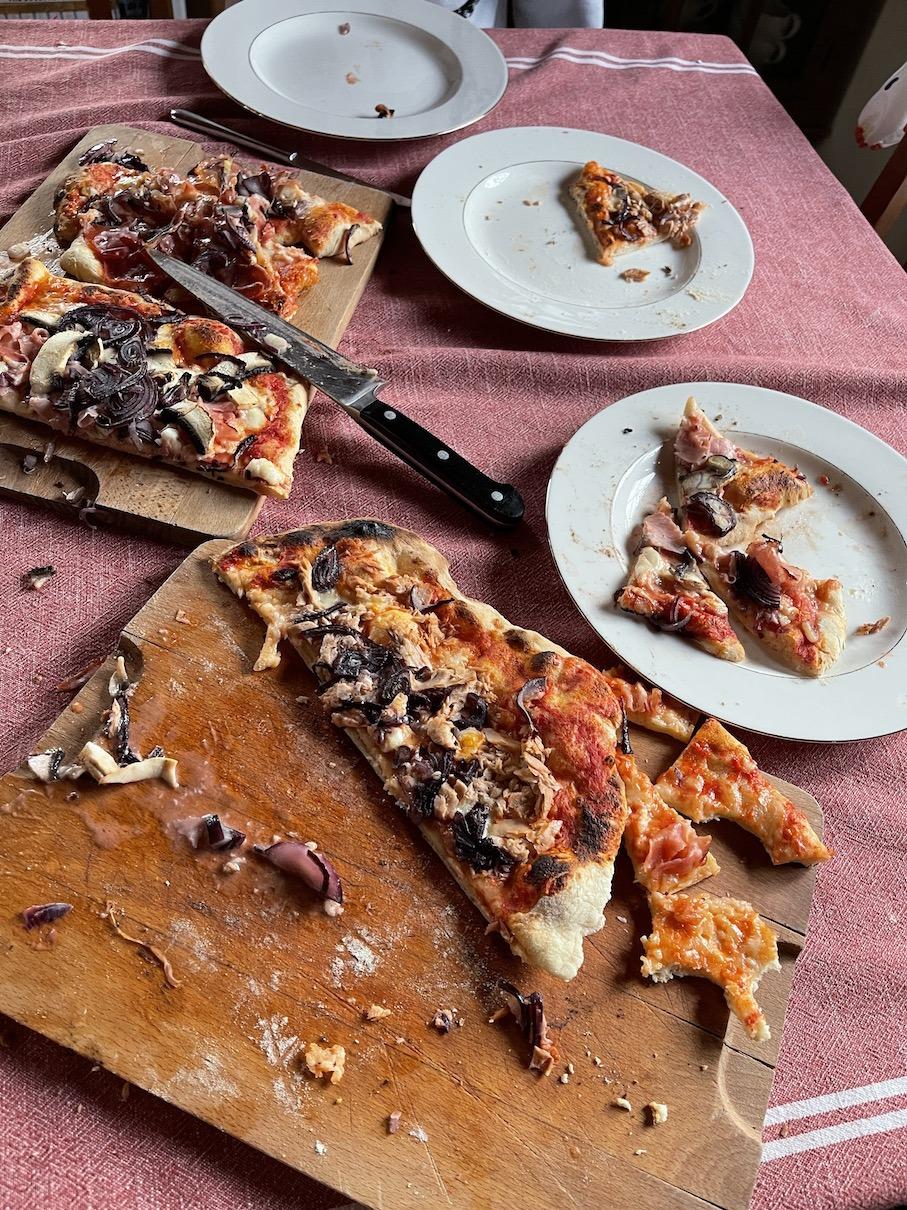 Ula Pedantula pizza
